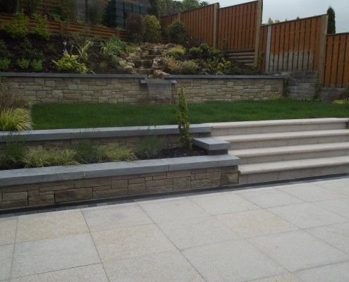 New Back Garden Cavan Brackley Landscaping